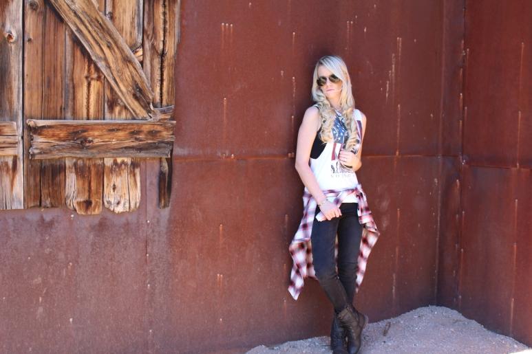 The Vintage Blonde - Wild Wild West