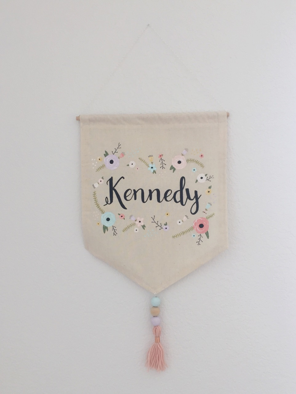 Custom Nursery Banner - The Vintage Blonde