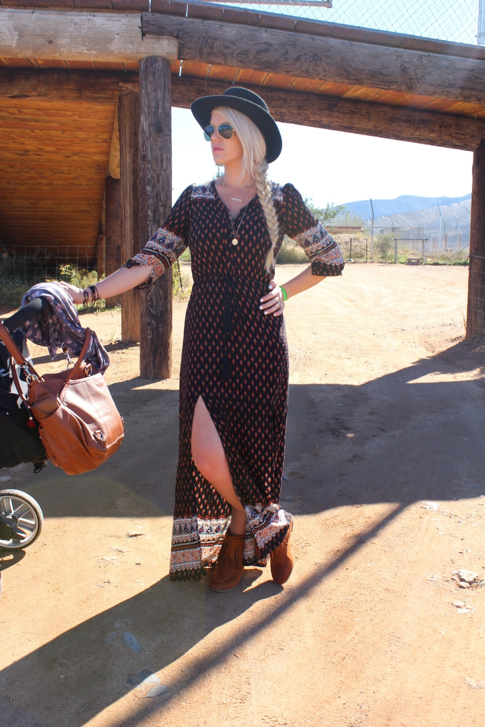The Vintage Blonde Goes To Out Of Africa